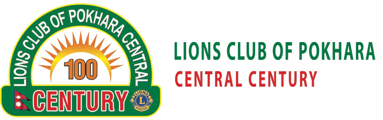 Lions club of Pokhara Central Century
